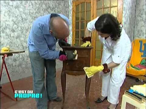 C 39 est du propre fabriquer une cire pour les meubles for Nettoyer meuble ancien