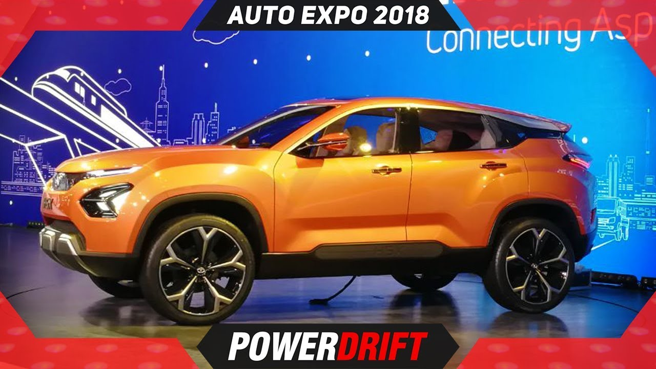 Tata H5X is now Harrier : Auto Expo 2018 : PowerDrift