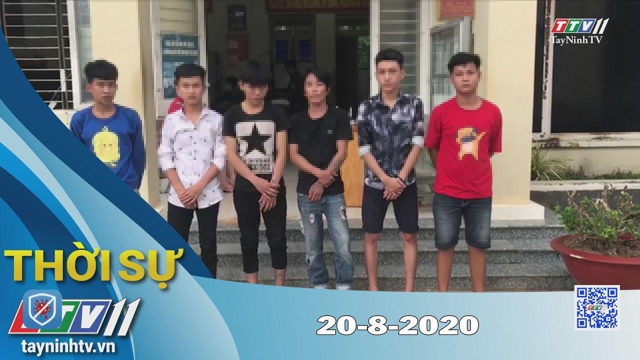 Thời sự Tây Ninh 20-8-2020 | Tin tức hôm nay | TayNinhTV