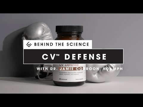 CV Defense was created with specific intent — fortify your daily immune health.