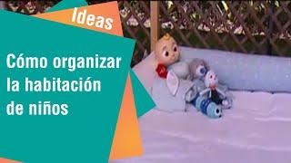 Elementos organizadores de una habitación de niños | Ideas