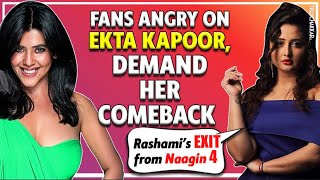 Rashami NO MORE a part of Naagin 4; Fans DEMAND Ekta Kapoor for her comeback | Checkout to know more - TELLYCHAKKAR