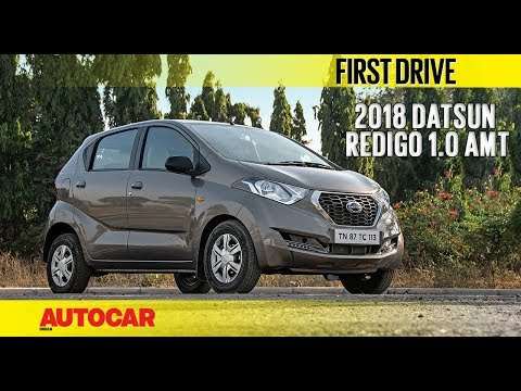 Datsun Redigo 1.0 AMT | First Drive | Autocar India