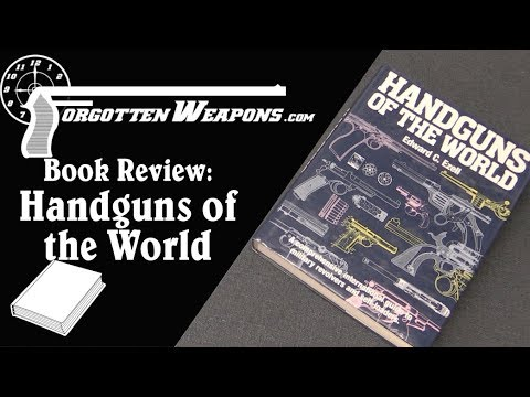 connectYoutube - Book Review: Handguns of the World by Edward Ezell