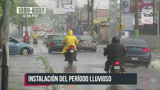 Bajas presiones ocasionan presencia de lluvias en varias zonas de Nicaragua