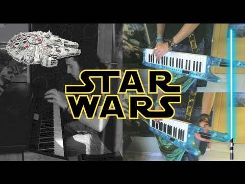Video: Star Wars - Epic Keyboard Version