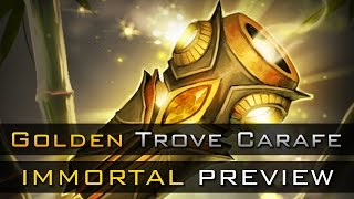 Dota 2 The Golden Trove Carafe