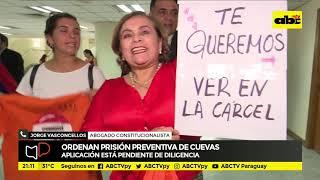 Mesa de Periodistas: Ordenen prisión preventiva de Cuevas