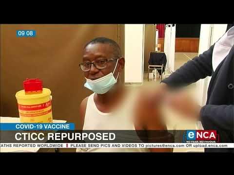 CTICC repurposed for COVID-19 vaccines