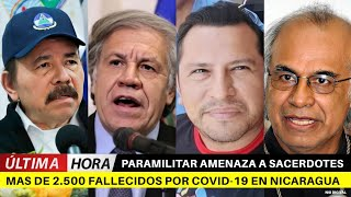 ???? ÚLTIMA HORA NICARAGUA BREVE INFORMATIVO NOTICIAS NICARAGUA 09 DE AGOSTO 2020