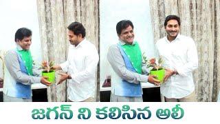 జగన్ ని కలిసిన అలీ || Comedian Ali Meets CM YS Jagan || IG Telugu - IGTELUGU
