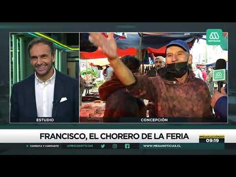 A quién vamos a enamorar: Poeta chorero recita en vivo para Meganoticias en plenas elecciones
