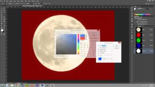 Photoshop CS6 Tutorial - 146 - Channel Mask Options