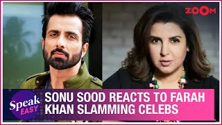 Sonu Sood REACTS to Farah Khan calling out celebrities sharing their working out videos | Exclusive - ZOOMDEKHO