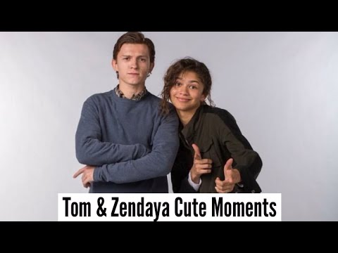 connectYoutube - Tom Holland & Zendaya | Cute Moments (Part 2)