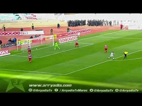 كأس الكونفدرالية | النادي الأفريقي 0-1 نهضة بركان هدف أيوب الكعبي