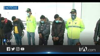 Banda dedicada al robo a personas en el sur de Quito fue desarticulada