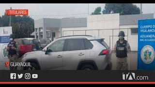 Policía Aduanera retuvo un vehículo importado con carné de discapacidad