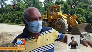 Trabajan en Cienfuegos por garantizar comunicación terrestre con comunidad El Nicho