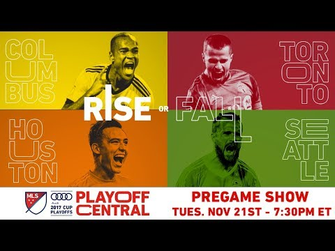 Playoff Central: Conference Championships - Leg 1 Pregame | LIVE