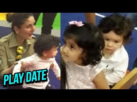 connectYoutube - Kareena Kapoor Taimur Ali Khan PLAY DATE with Tusshar Kapoor and Laksshya