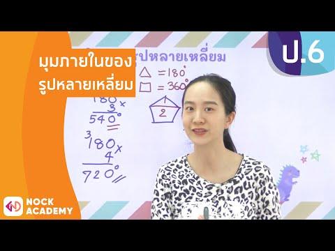 วิชาคณิตศาสตร์-ชั้น-ป.6-เรื่อง