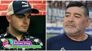 Acusan a Santiago Lara, el presunto hijo de Maradona, de pedir costosos canjes para aparecer en...