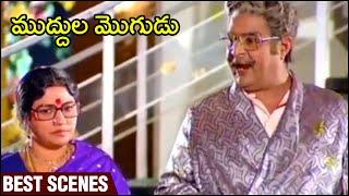 Muddula Mogudu Movie Best Scene  | ANR | Sridevi | Sharath Babu | Suhasini | Rajshri Telugu - RAJSHRITELUGU