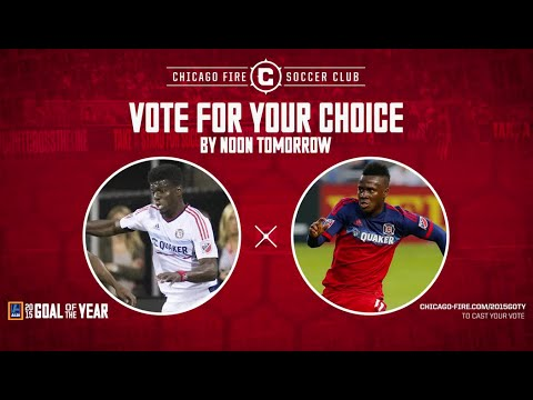 VIDEO: Ghana striker David Accam in contention for Chicago Fire Goal of the season award