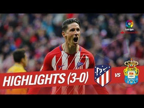 Resumen de Atlético de Madrid vs UD Las Palmas (3-0)