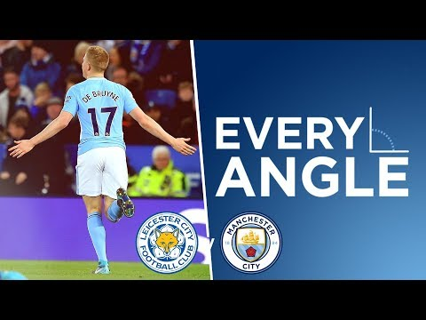 DE BRUYNE STRIKE! | Every Angle: Kevin De Bruyne | Leicester 0-2 Man City