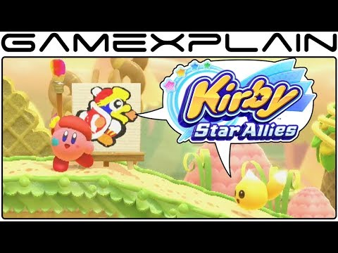 connectYoutube - Kirby: Star Allies - Nintendo Direct Mini Gameplay DISCUSSION