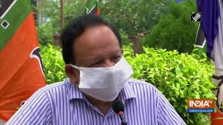 Dr Harsh Vardhan remembers Dr Syama Prasad Mookerjee on his birth anniversary - INDIATV