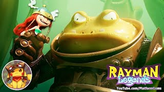 RAYMAN LEGENDS Toad Story - World 2 - 100% Walkthrough [1080p] No commentary