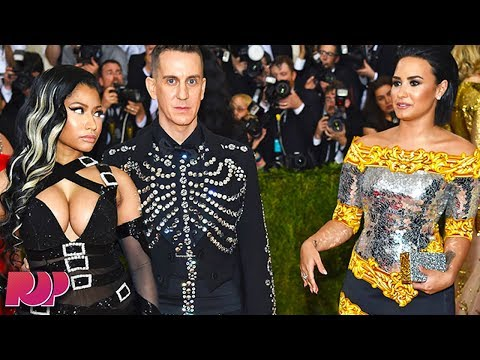 connectYoutube - Demi Lovato: A Celebrity Made Me Want To Drink At The Met Gala
