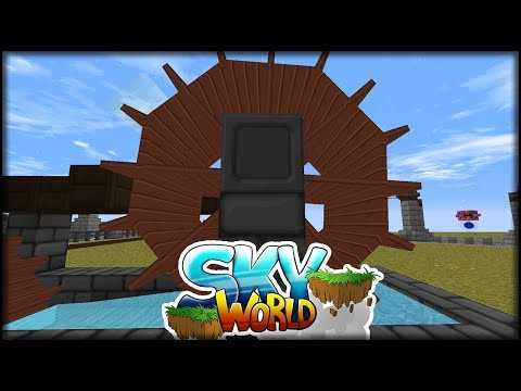 connectYoutube - Die kennen wir doch, die Räder des Stroms | Minecraft SkyWorld #32 | Minecraft Modpack
