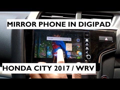 Mirror Phone's Screen in Digipad - Honda City 2017 / WRV