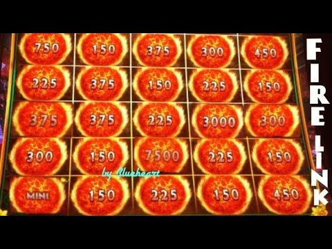 connectYoutube - ★ 25 FIRE BALLS WON! ★ ULTIMATE FIRE LINK slot machine BONUS WINS!