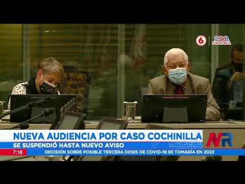 Caso Cochinilla: Nueva audiencia se suspendió hasta nuevo aviso