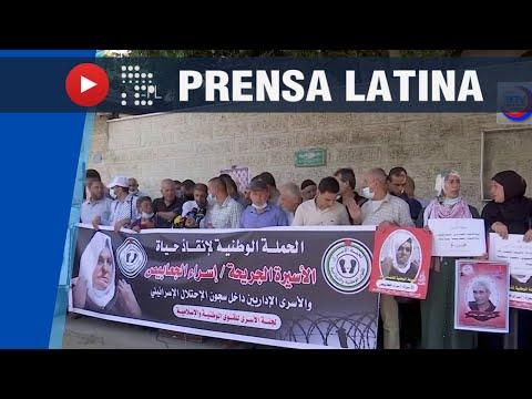 Continúa solidaridad con prisioneros de Palestina en cárceles de Israel