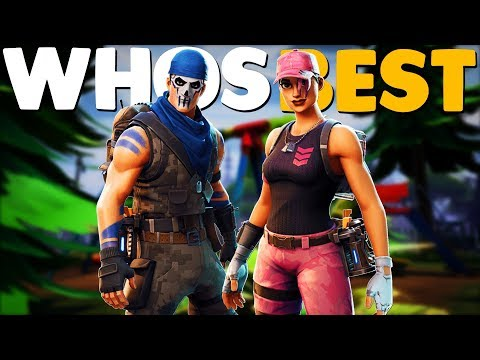 Gamer Girl Playing Fortnite With Ronald