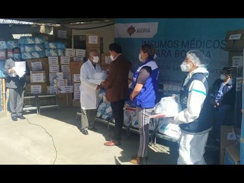 ¡Buenas noticias! Llegó equipamiento para el complejo hospitalario de Miraflores