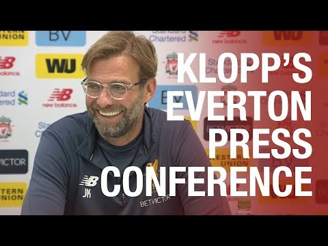 Jürgen Klopp's press conference ahead of the derby | Liverpool v Everton