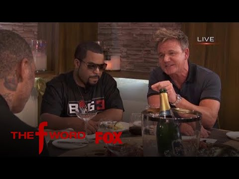 Ice Cube Stops By THE F WORD Kitchen   Season 1 Ep. 10   THE F WORD