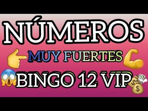 BINGAZO 12 VIP NÚMEROS PARA HOY 04/05/2021 OJÓS PALE