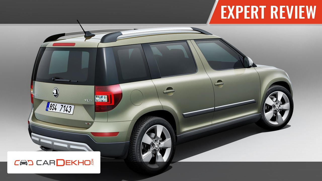 2014 Skoda Yeti | Video Review India | CarDekho.com