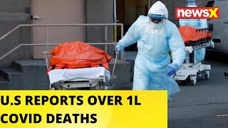 Over 1 Lakh Deaths Recorded In U.S.A   NewsX - NEWSXLIVE