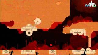 Super Meat Boy Walkthrough - The Forest: Lil Slugger Boss