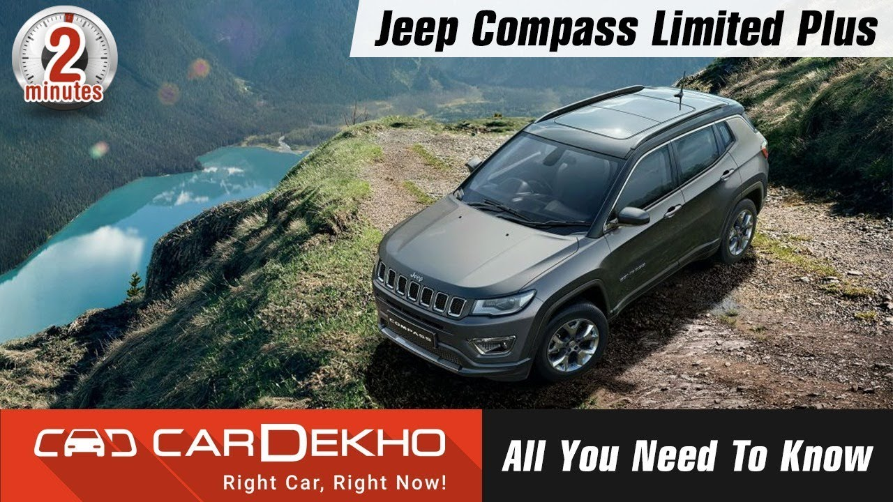 "Jeep Compass Limited Plus | Sunroof, New Touchscreen, 18"" Alloys - Price and More! #In2Mins"
