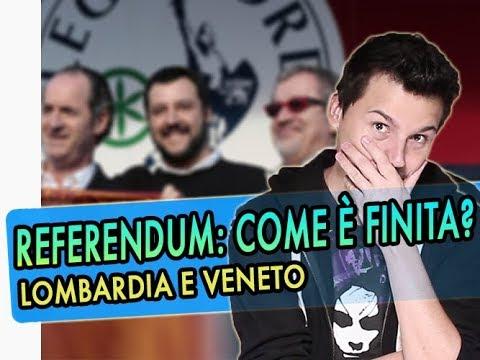 Due parole riassuntive sui referendum in Veneto e Lombardia: chi ha vinto?